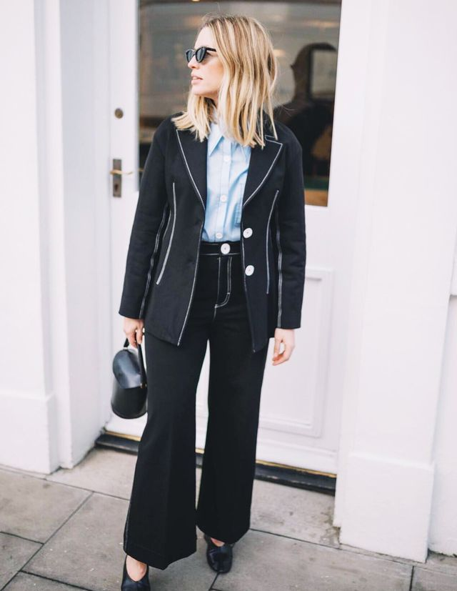 What to wear to an interview: Alexis Foreman wears Zara suit