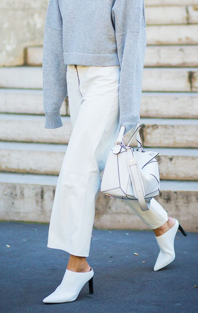 celebrity styling tricks: Mules