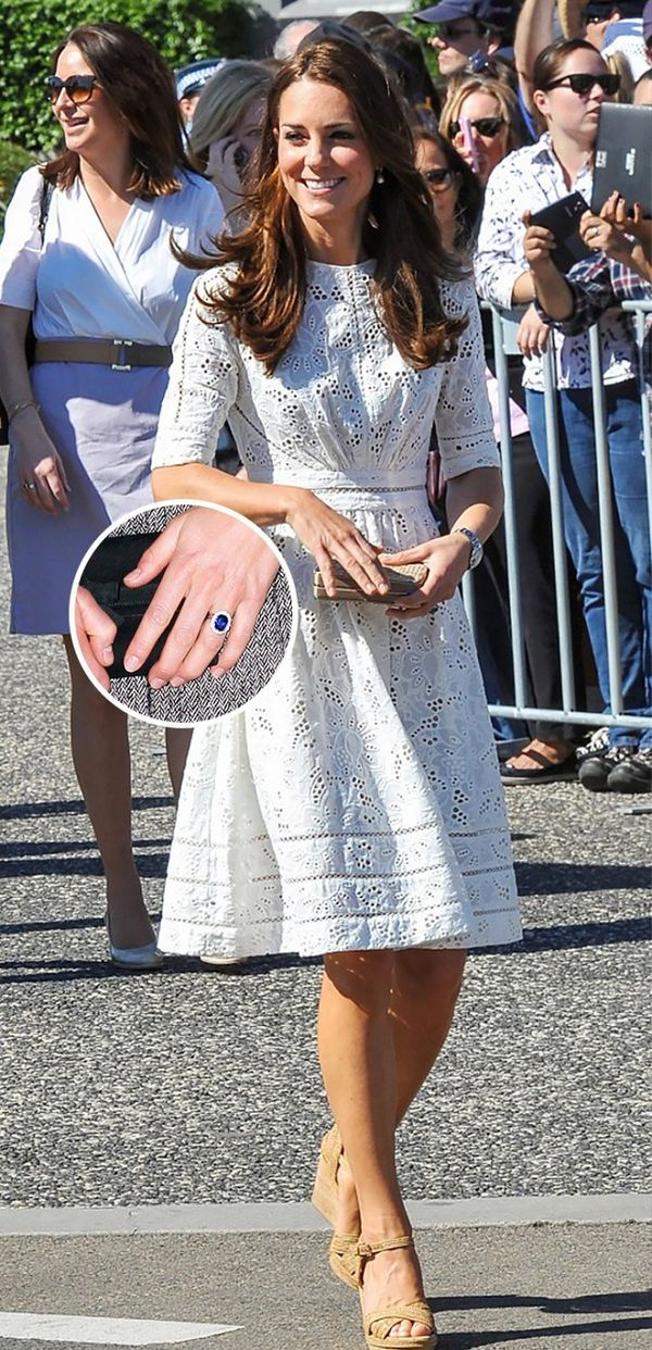 Celebrity engagement rings: The Duchess of Cambridge