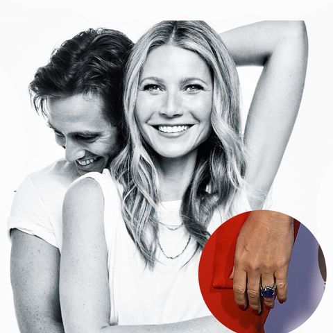 celebrity engagement rings: gwyneth paltrow