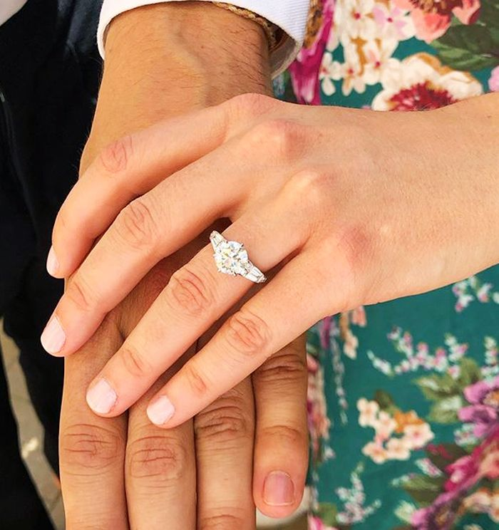 Celebrity Engagement Rings Most Expensive Engagement Rings Who What Wear Uk