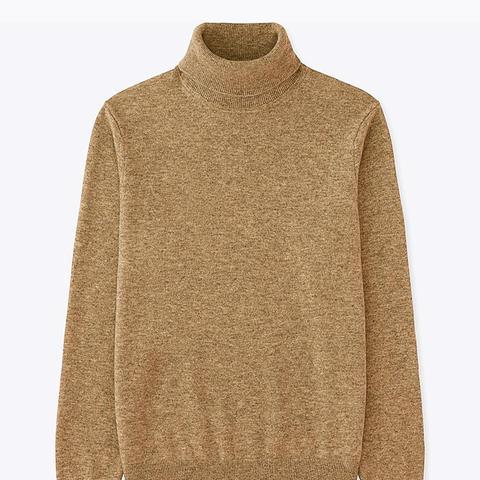 Men Cashmere Turtleneck Sweater
