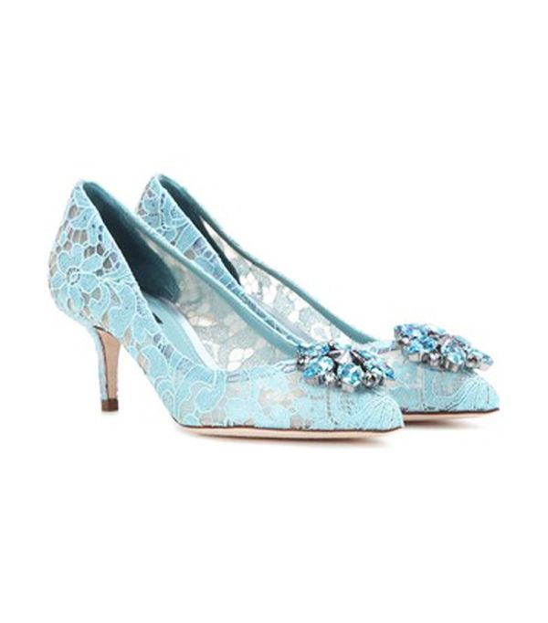 Best bridal shoes: Dolce & Gabbana
