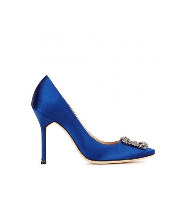 Best bridal shoes: Manolo Blahnik
