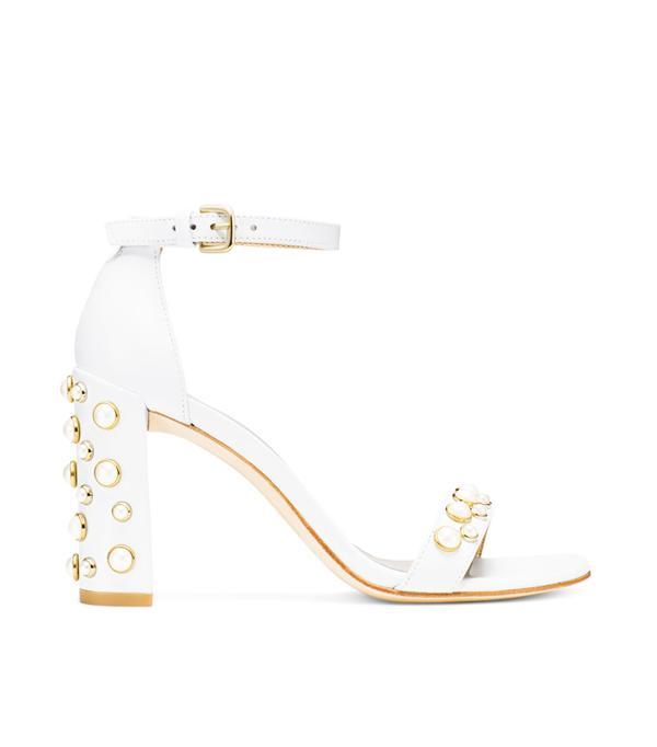Best bridal shoes: Stuart Weitzman The Morepearls Sandal