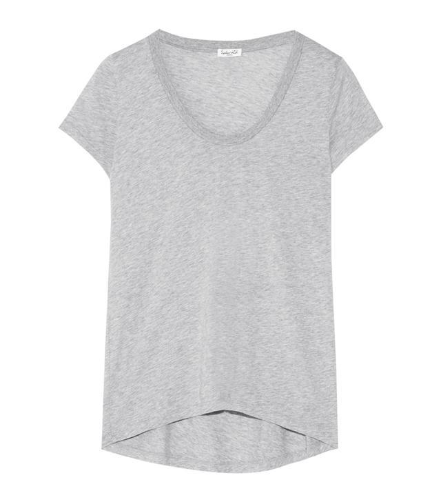 What guys like girls to wear: Splendid Cotton and Modal-Blend Jersey T-shirt