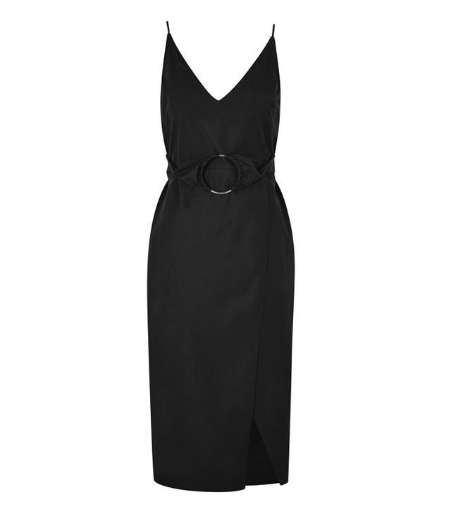 What guys like girls to wear: Topshop O-Ring Poplin Slip Dress