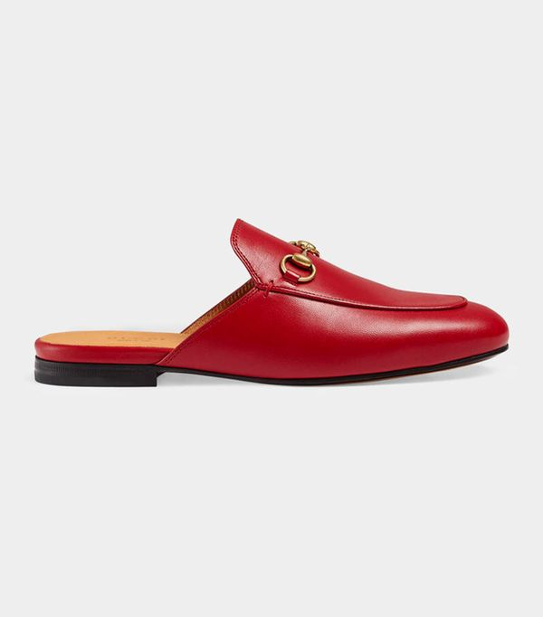 What to wear on a date: Gucci Princetown Leather Slipper