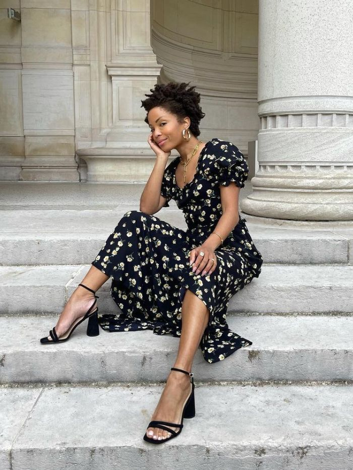 What to Wear to a Wedding: floral dress