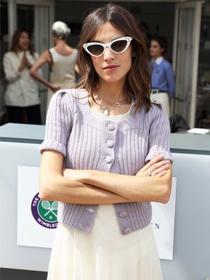 23 Alexa Chung Outfit Formulas We Will Never Tire Of