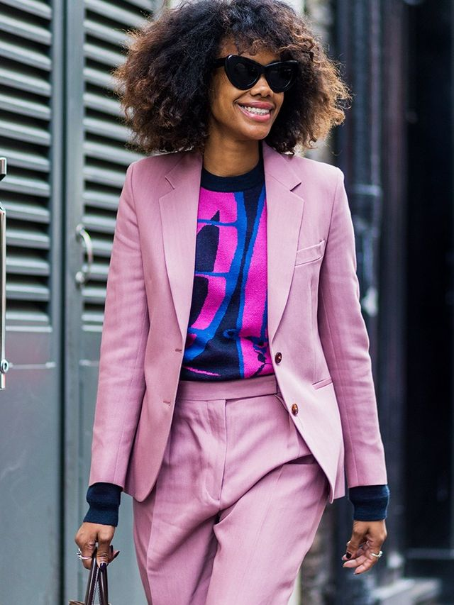 How to wear a blazer: Matching jacket and trousers