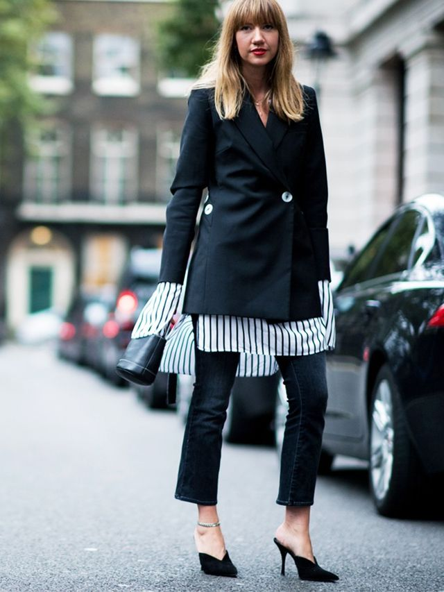 How to wear a blazer: Look for interesting details