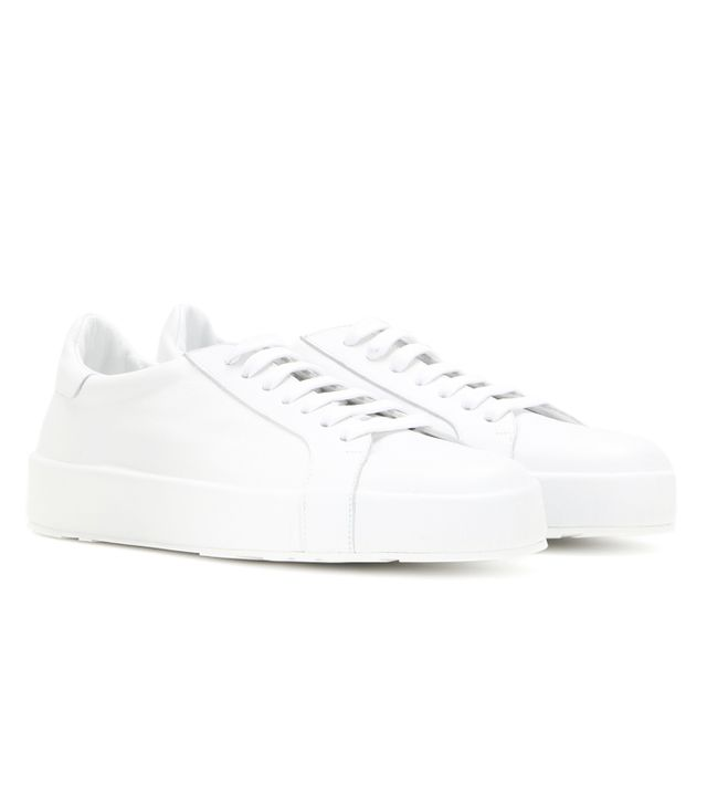 How to dress in your 30s: Jil Sander Leather Sneakers