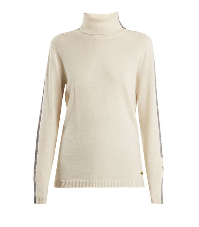How to dress in your 30s: Bella Freud Britt Roll-Neck Cashmere-Blend Sweater