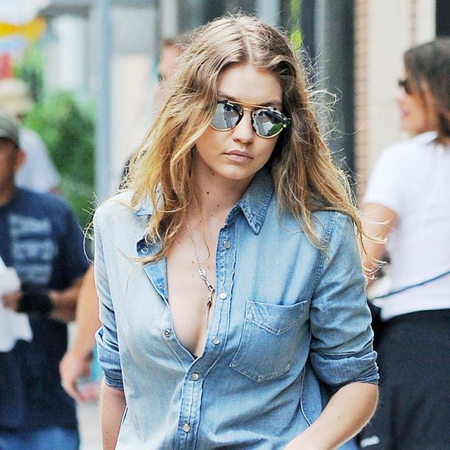 This Is the Only Way to Wear Your Denim Shirt Right Now