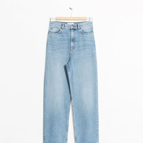 Wide Leg Denim Jeans