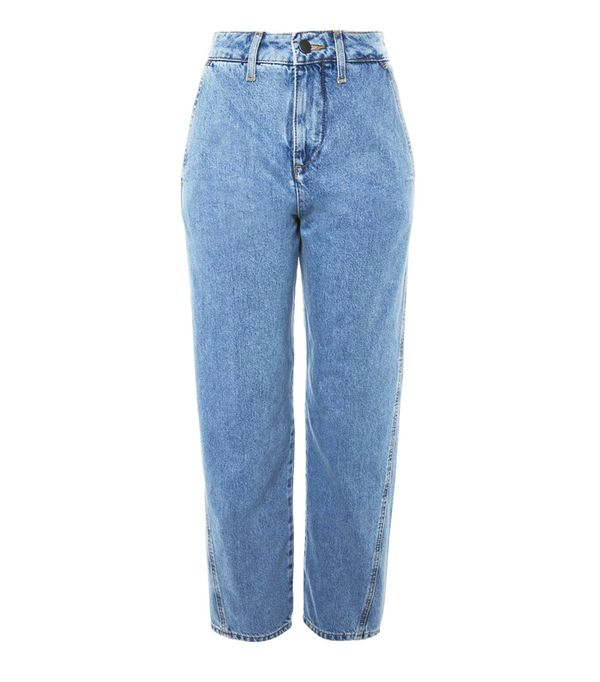 How to wear boyfriend jeans: Topshop Displaced Boyfriend Jeans by Boutique