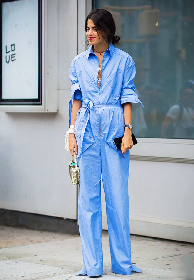 How to wear a jumpsuit: for the office
