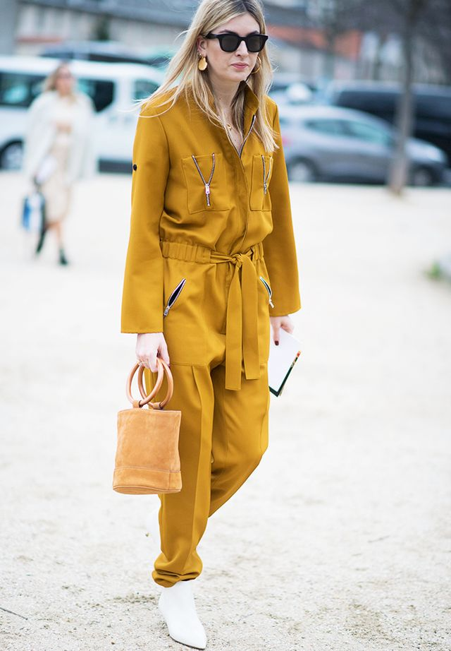 How to wear a jumpsuit: for brunch