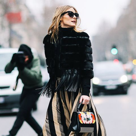 Olivia Palermo Style: statement jackets are key