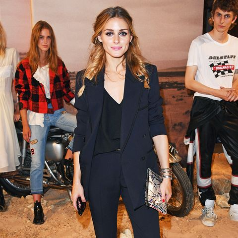 Olivia Palermo Style: Sneakers Can be Elegant