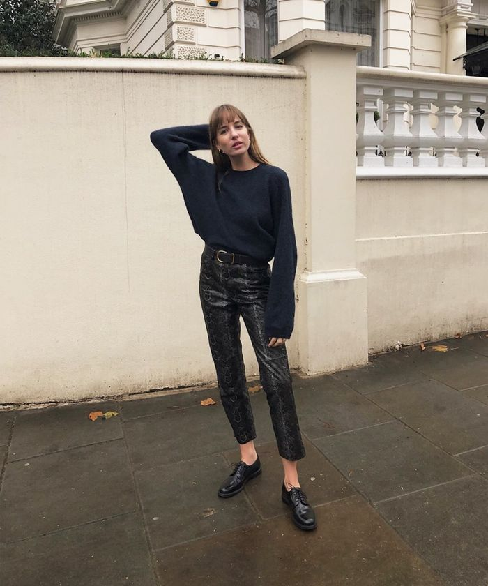 All-Black Outfits for People Who Love