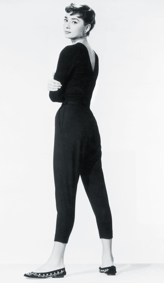 Audrey Hepburn style: Ballet pumps