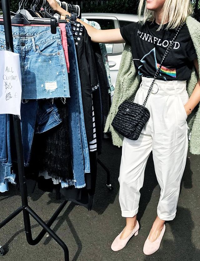 Budget cheap style tips: Car boot sale battersea