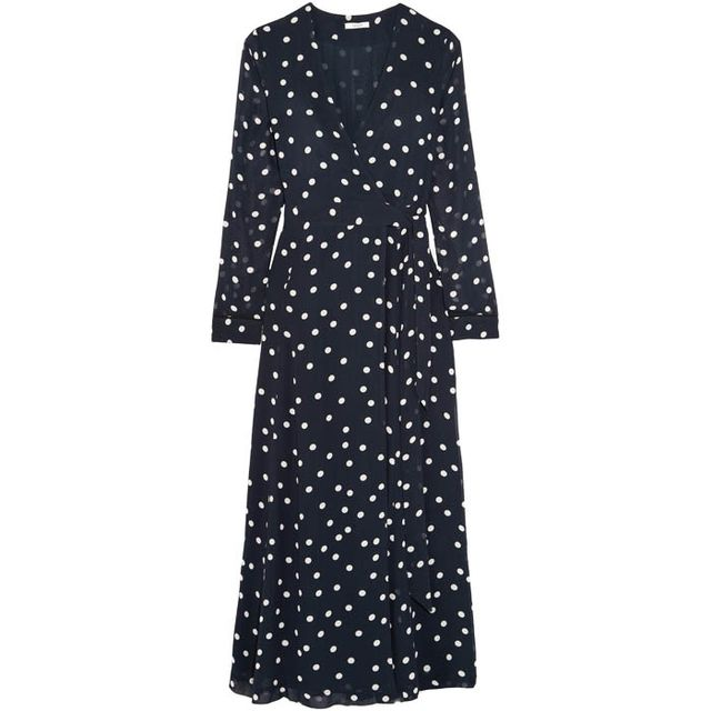 Dress Styles: Ganni Polka Dot Dress