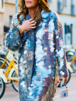 This Is the Trick to Finding A Coat That Actually Goes With Your Party Dress