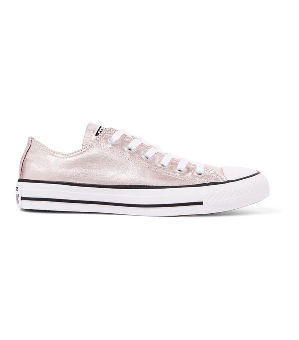 How to Wear Converse: Converse Chuck Taylor All Star Metallic Coated-Canvas Sneakers