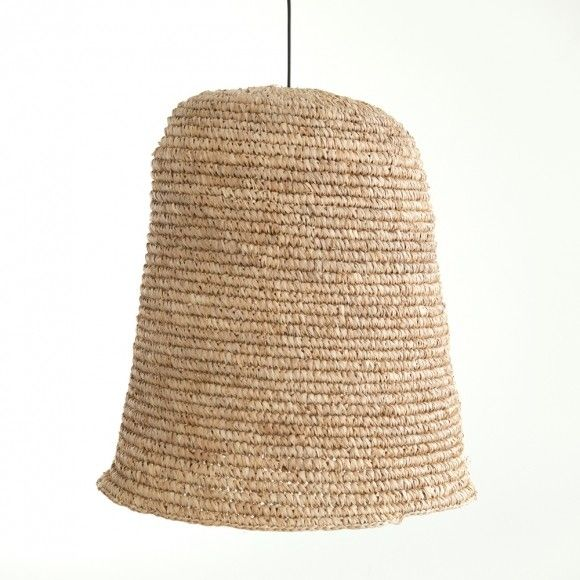 Black & Brown Natural Seagrass Light Shade
