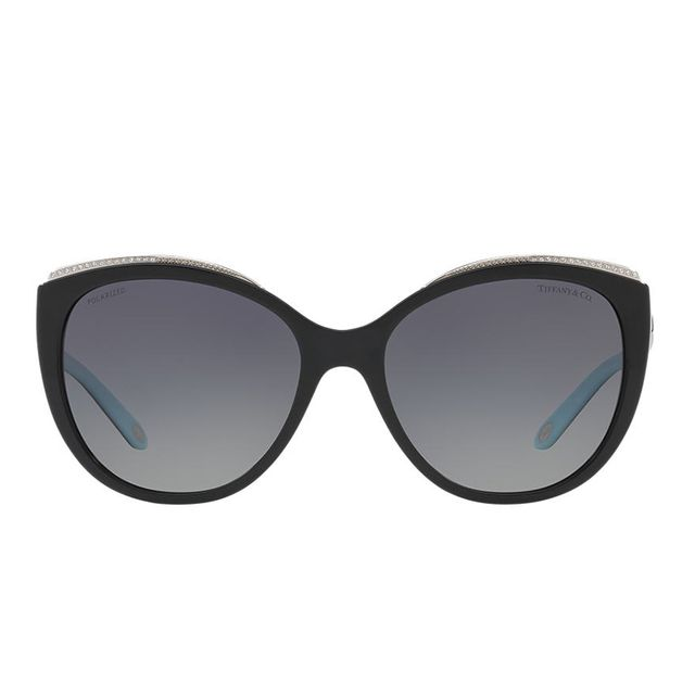 Black Cat-Eye Sunglasses - tf4134b