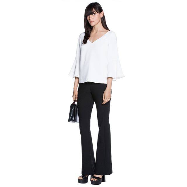 Cue Soft Flare Sleeve Top