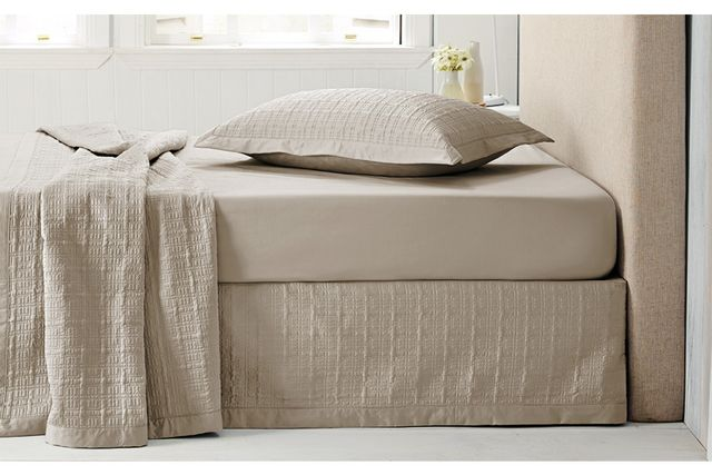 Sheridan Quilted Cotton Bedskirt