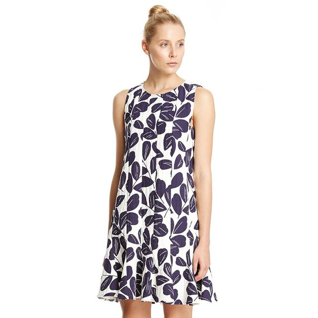 Scanlan Theodore Panelled Floral Dress