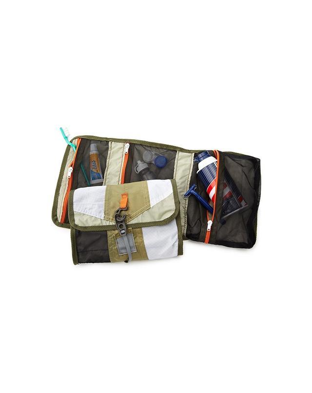 Uncommon Goods Upcycled Tent Dopp Kit