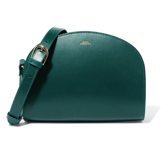 Red hair colour: Chloé Mini Drew Shoulder Bag