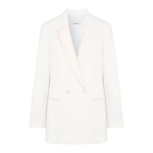 Red hair colour: Reiss Longline Single Breasted Blazer