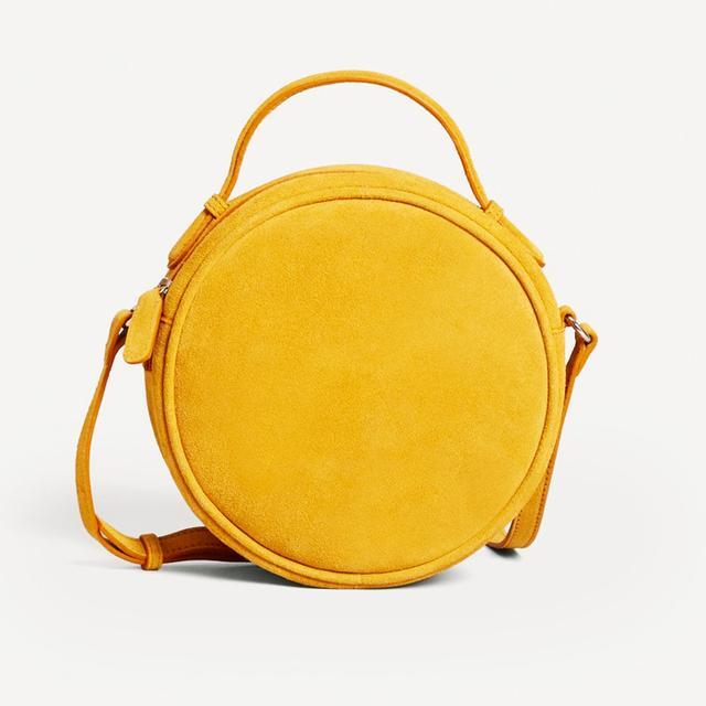 Red hair colour: Topshop Ring Drawstring Bucket Bag