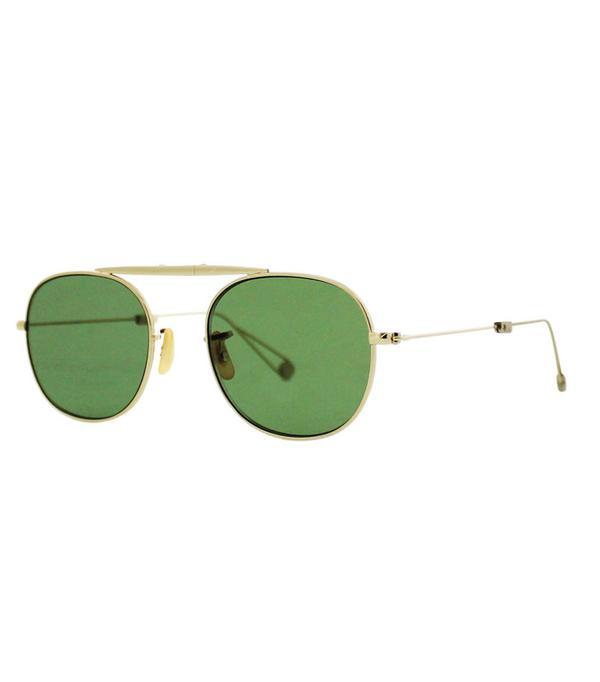 Gigi Hadid Sunglasses: Garrett Leight Van Buren M 49 Aviator Sunglasses