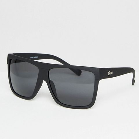 Barnun Oversized Smoke Lens Sunglasses