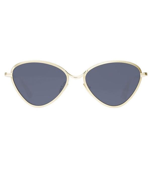 Gigi Hadid Sunglasses: Le Specs Bazaar Gold