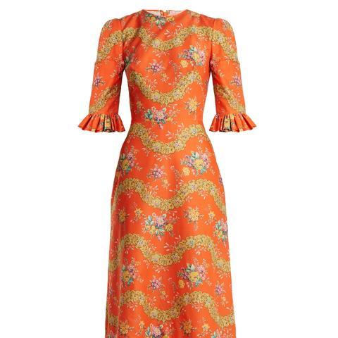 Festival Liberty Floral-Print Cotton Dress