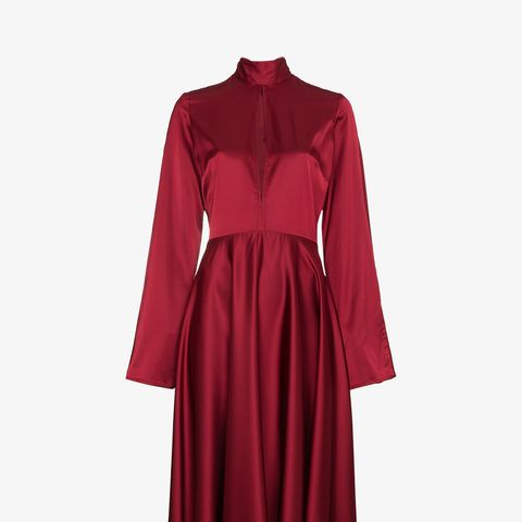 Dress With Flared Sleeves