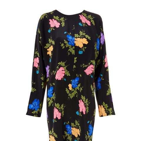 Batwing Floral Midi Dress by Boutique