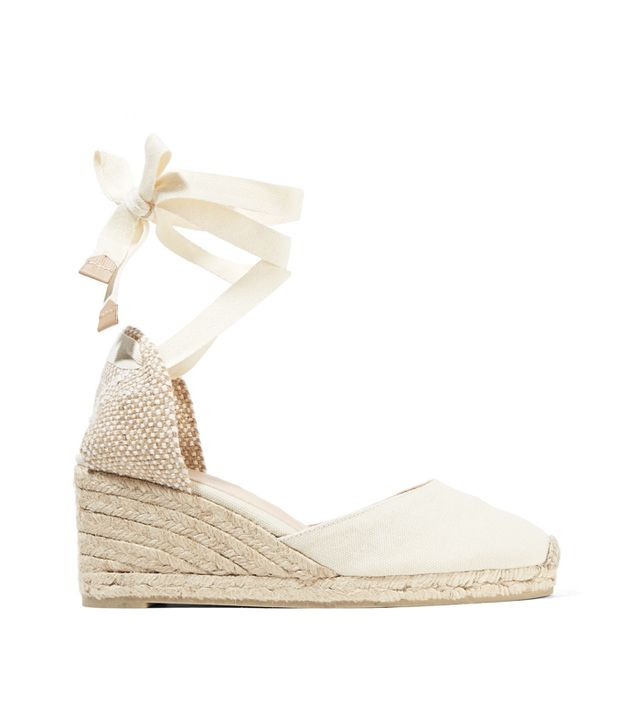 What not to wear at the airport: Castaner Carina Canvas Wedge Espadrilles