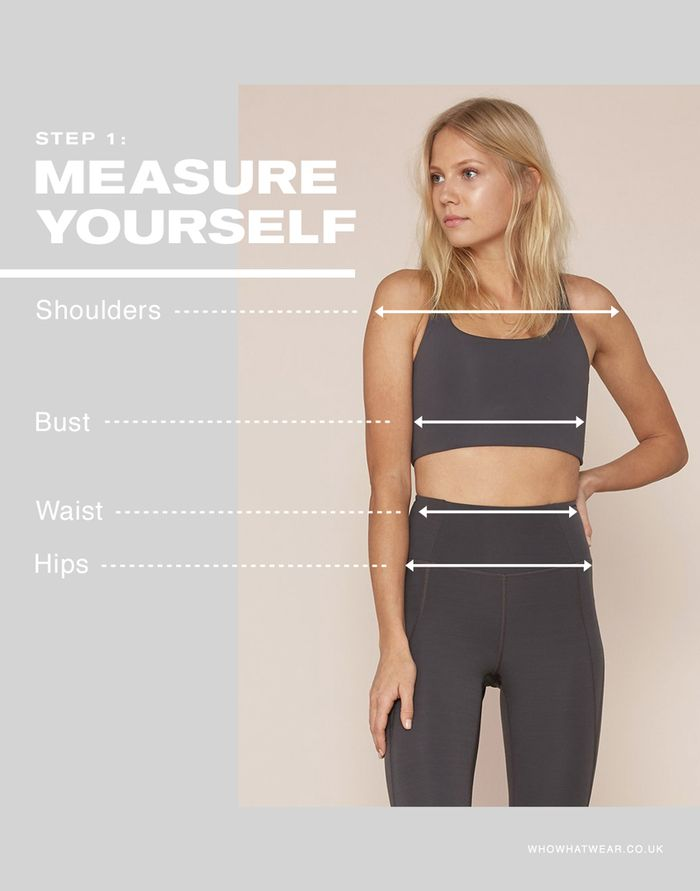 Body shape calculator: how to take your measurements and work out your body shape