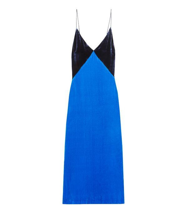 How to wear velvet: Dion Lee Velvet Slip Dress