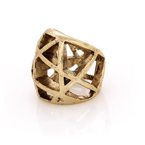 Low Luv by Erin Wasson Domed Cage Ring